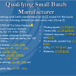 3. Third-Party Testing NOT Required of Qualifying Small Batch Manufacturer